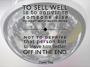 Dan Pink selling quote