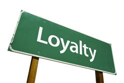 Loyalty sign